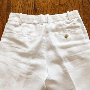 J. Crew Pants - J. Crew White Cropped Wide Leg Pants